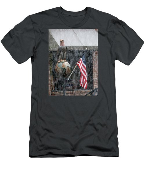 Men's T-Shirt (Slim Fit) featuring the photograph These Colors Dont Run by John Glass