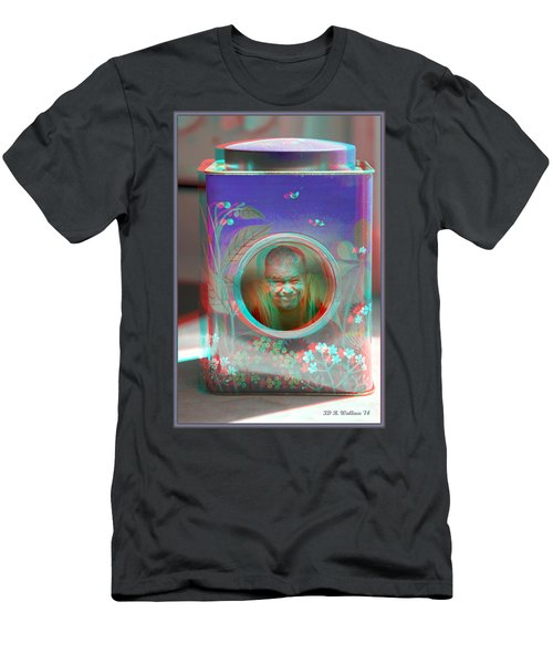 Thinking Inside The Box - Red/cyan Filtered 3d Glasses Required Men's T-Shirt (Athletic Fit)