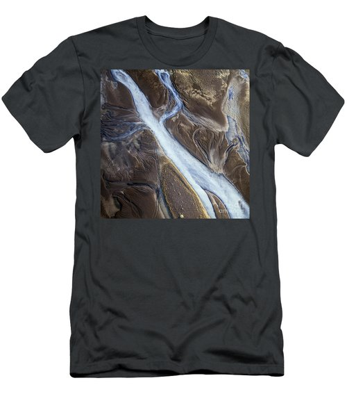 Men's T-Shirt (Slim Fit) featuring the photograph Thjosa by Gunnar Orn Arnason