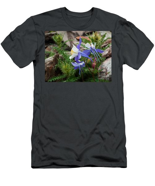 Three Columbine Men's T-Shirt (Athletic Fit)