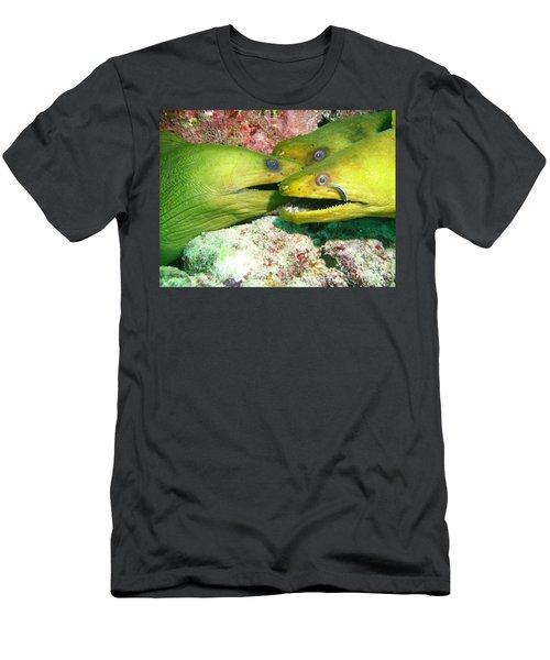 Three Eels Men's T-Shirt (Athletic Fit)