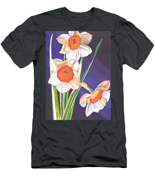 Three Jonquils Men's T-Shirt (Athletic Fit)