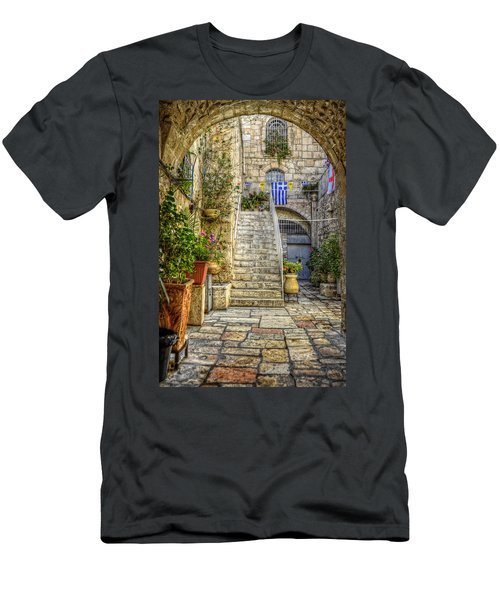 Through The Doorway Men's T-Shirt (Athletic Fit)