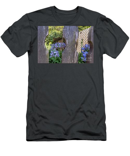 Through The Fence Men's T-Shirt (Athletic Fit)