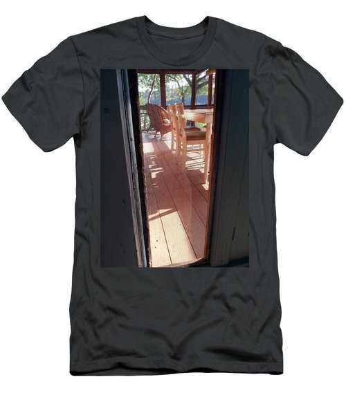 Through The Screen No 2 Men's T-Shirt (Athletic Fit)