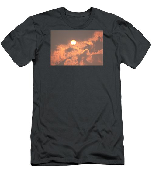 Men's T-Shirt (Slim Fit) featuring the photograph Through The Smoke by Melanie Lankford Photography