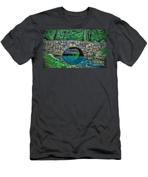 Through The Tunnel Men's T-Shirt (Athletic Fit)