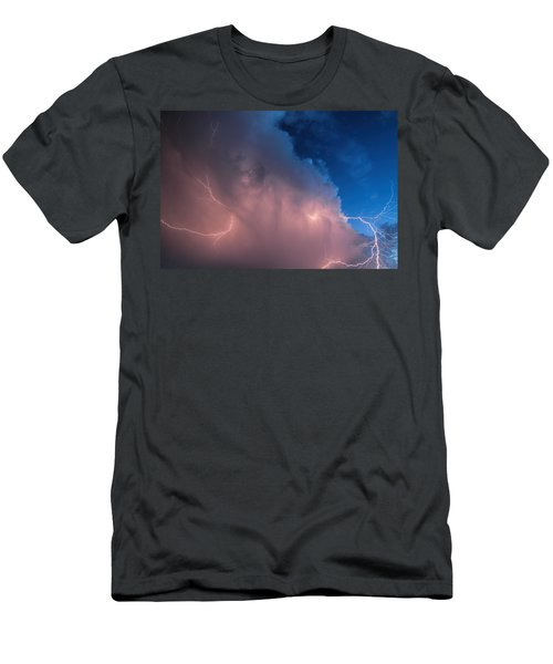 Thunder God Approaches Men's T-Shirt (Athletic Fit)