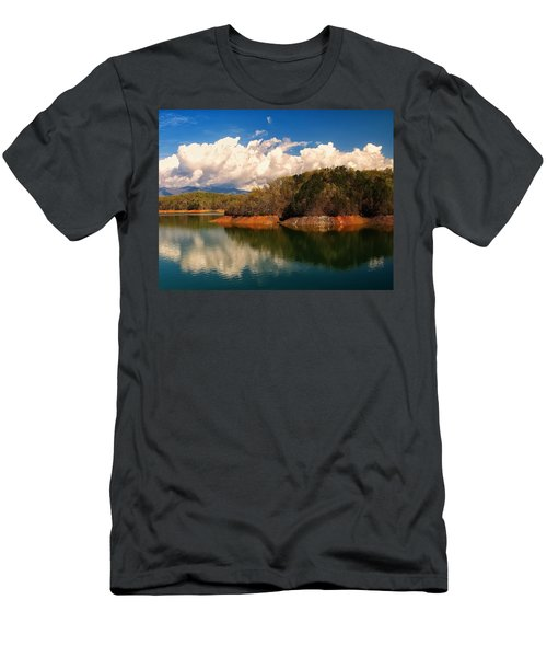 Thunderstorm Rolling Over The Smokies Men's T-Shirt (Athletic Fit)