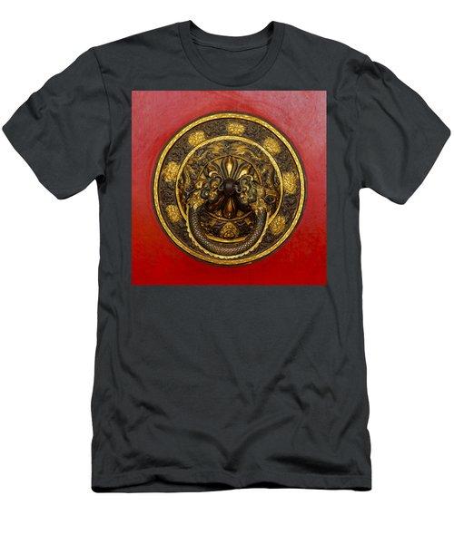 Tibetan Door Knocker Men's T-Shirt (Athletic Fit)