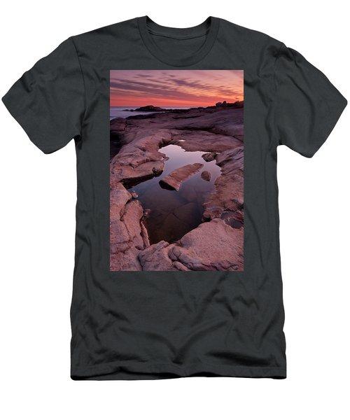Tide Pool Geometry Men's T-Shirt (Athletic Fit)
