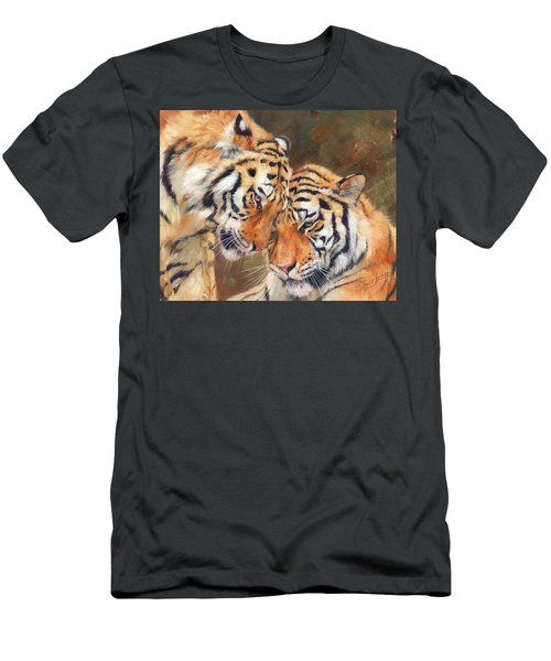 Tiger Love Men's T-Shirt (Athletic Fit)