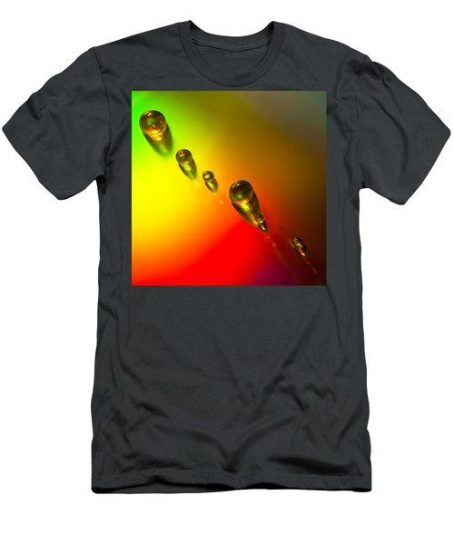 Tiny Bubbles Men's T-Shirt (Athletic Fit)