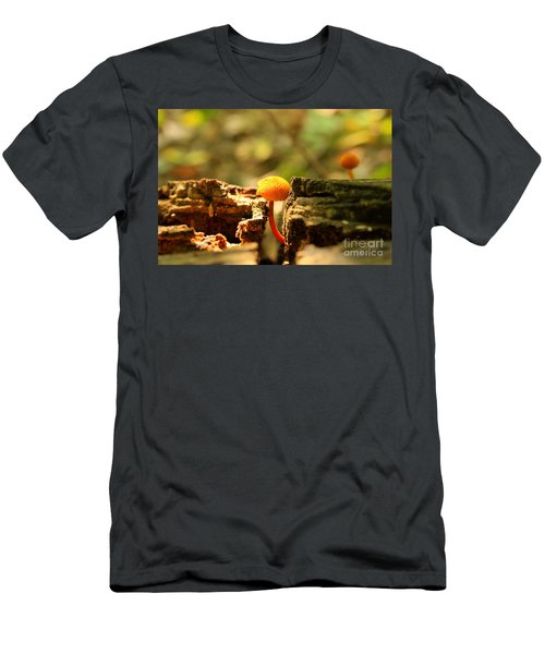 Tiny Mushroom Men's T-Shirt (Athletic Fit)