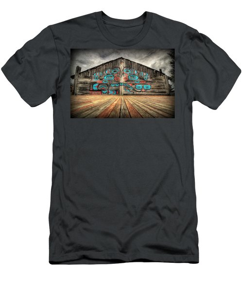 Tlingit Tribal House Haines Alaska Men's T-Shirt (Athletic Fit)
