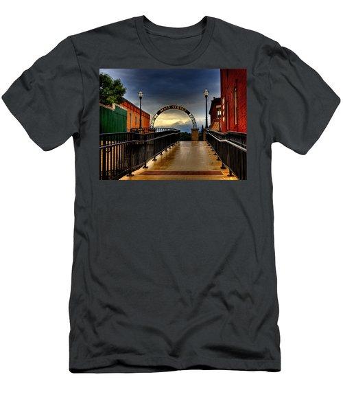 To Main Street Waupaca Men's T-Shirt (Athletic Fit)