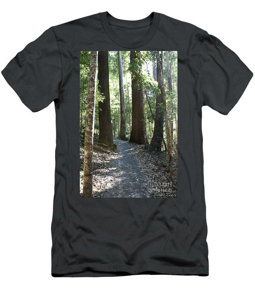 To Walk Among Giants Men's T-Shirt (Athletic Fit)