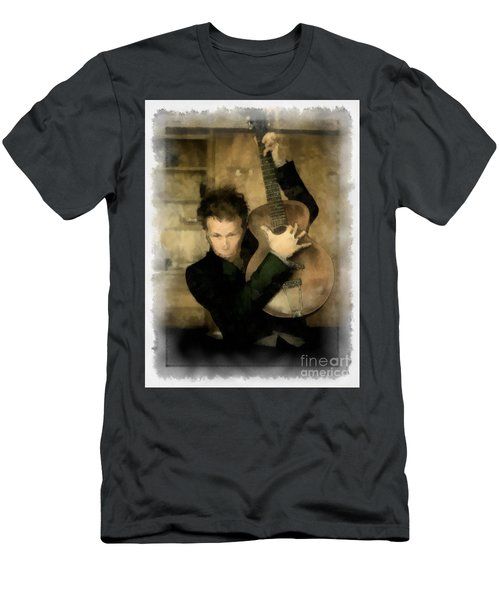 Tom Waits Men's T-Shirt (Athletic Fit)