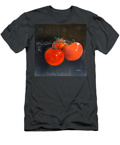 Men's T-Shirt (Athletic Fit) featuring the painting Tomatoes by Richard Le Page