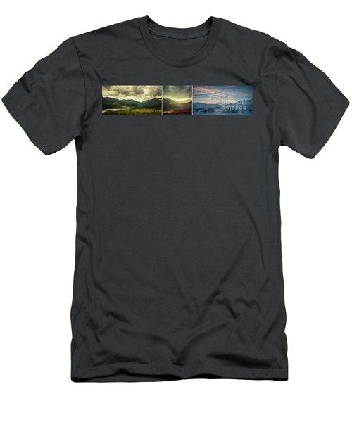 Tombstone Range Seasons Men's T-Shirt (Athletic Fit)