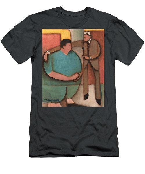The Price Is Wrong Art Print Men's T-Shirt (Athletic Fit)