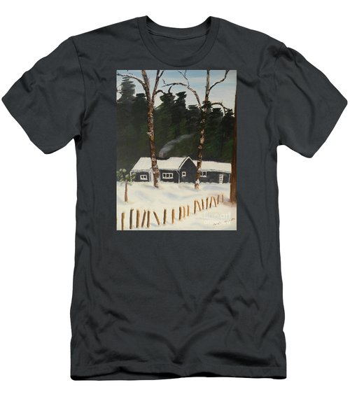 Tonys House In Sweden Men's T-Shirt (Slim Fit)