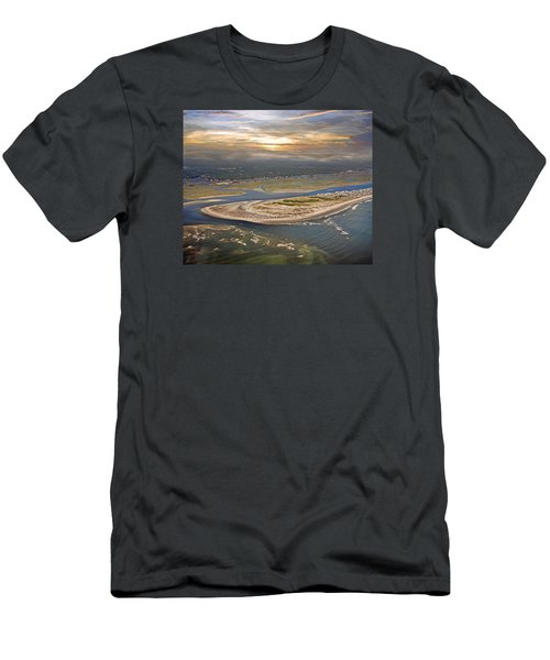 Topsail Island Paradise Men's T-Shirt (Athletic Fit)