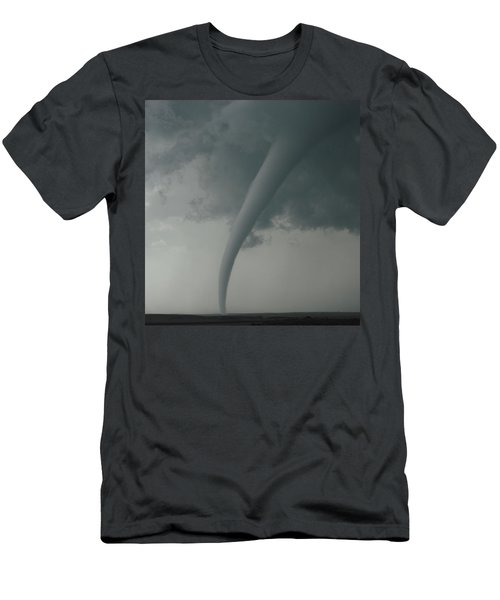 Men's T-Shirt (Slim Fit) featuring the photograph Tornado Country by Ed Sweeney
