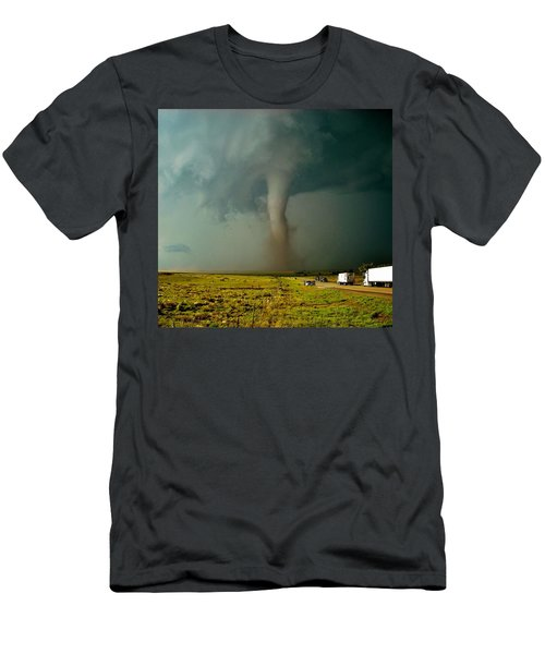 Tornado Truck Stop II Men's T-Shirt (Athletic Fit)