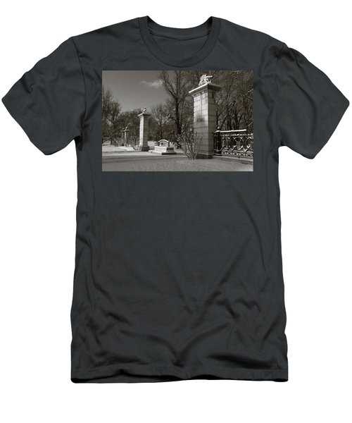 Tower Grove East Gate Men's T-Shirt (Athletic Fit)