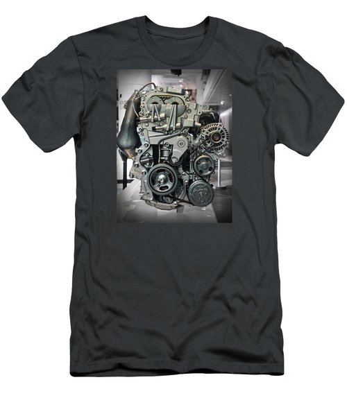 Toyota Engine Men's T-Shirt (Athletic Fit)