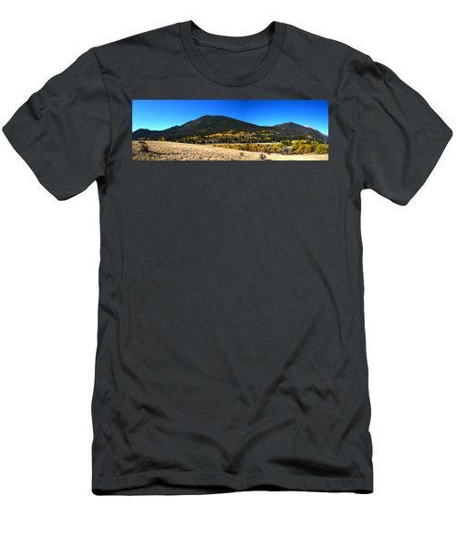 Trail Ridge Road - Panorama Men's T-Shirt (Athletic Fit)