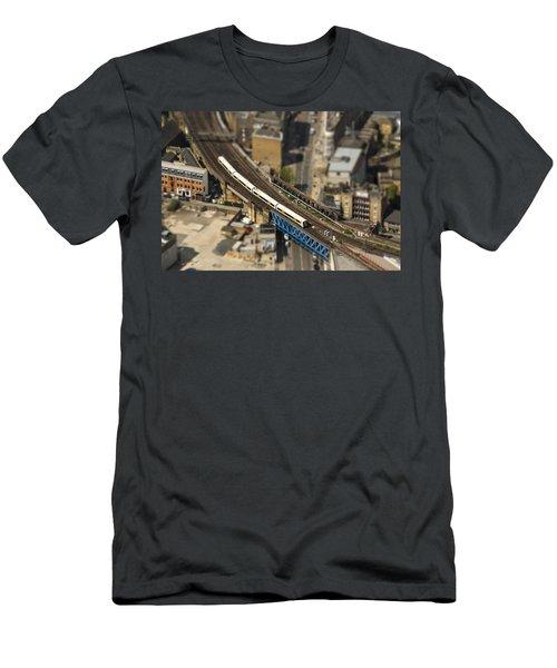 Train In London Men's T-Shirt (Athletic Fit)
