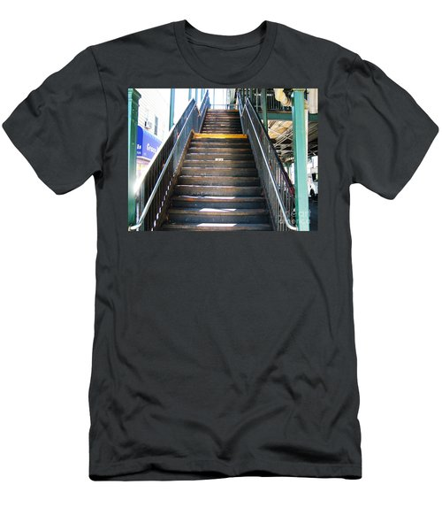 Train Staircase Men's T-Shirt (Athletic Fit)
