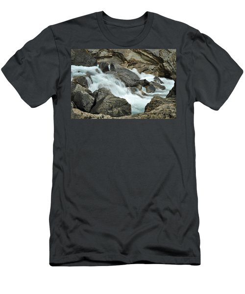 Men's T-Shirt (Slim Fit) featuring the photograph Tranquility by Lisa Phillips