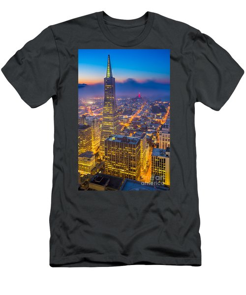 Transamerica Cityscape Men's T-Shirt (Athletic Fit)