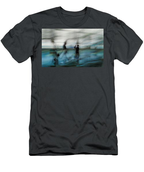 Men's T-Shirt (Slim Fit) featuring the photograph Travel Blues by Alex Lapidus