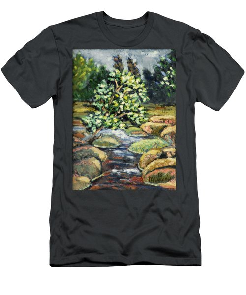 Tree And Stream Men's T-Shirt (Athletic Fit)