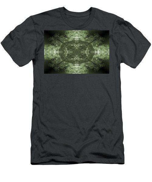 Tree Flip Green Men's T-Shirt (Athletic Fit)
