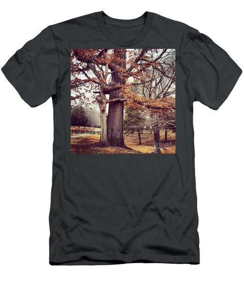 Tree Hugging Men's T-Shirt (Athletic Fit)