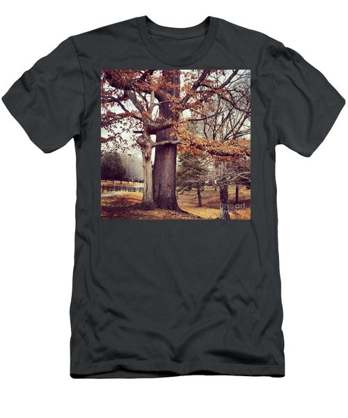 Tree Hugging Men's T-Shirt (Athletic Fit)