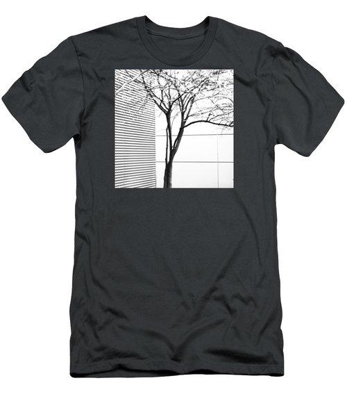 Tree Lines Men's T-Shirt (Slim Fit) by Darryl Dalton