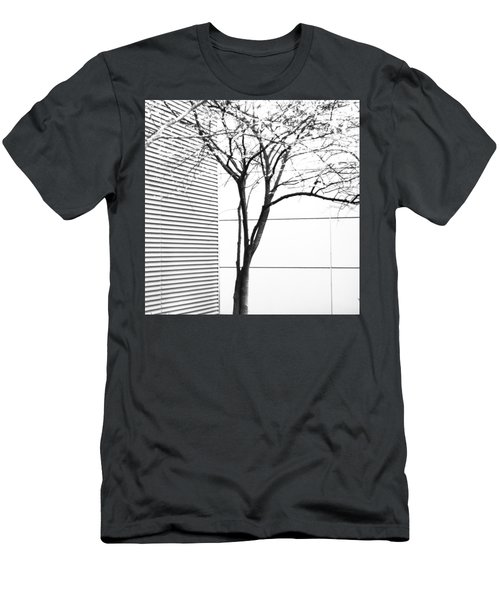Tree Lines Men's T-Shirt (Athletic Fit)
