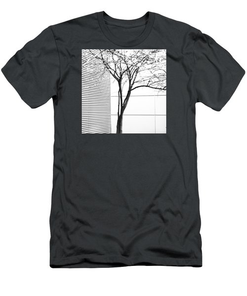 Tree Lines Men's T-Shirt (Athletic Fit)