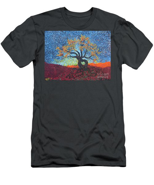 Tree Of Heart Men's T-Shirt (Athletic Fit)