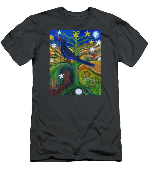 Tree Of Stars Men's T-Shirt (Athletic Fit)