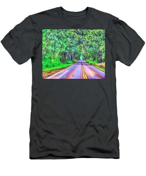 Tree Tunnel Kauai Men's T-Shirt (Athletic Fit)