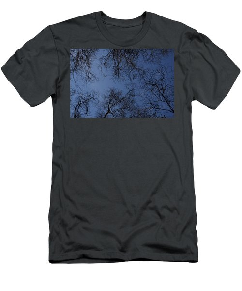 Trees Dark Men's T-Shirt (Athletic Fit)