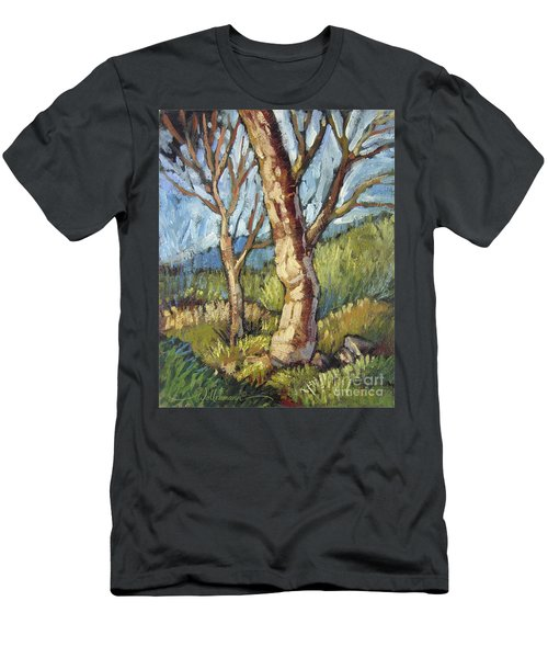 Trees In Spring Men's T-Shirt (Athletic Fit)