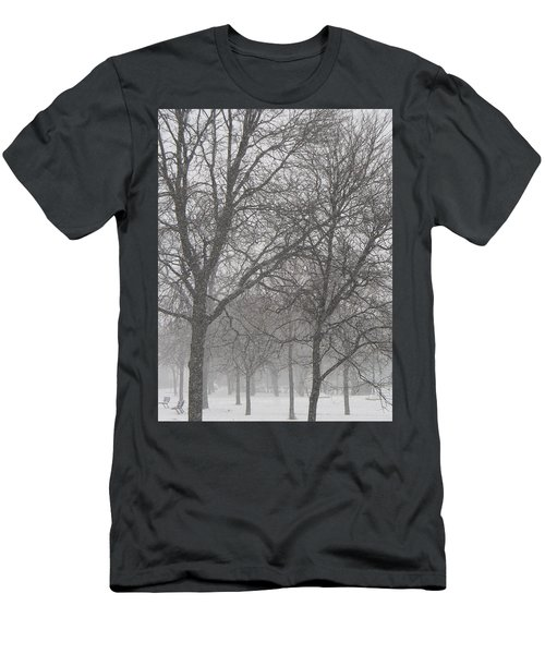Trees Of Silence Men's T-Shirt (Athletic Fit)